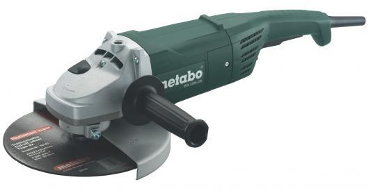 Углошлифовальная машина Metabo W2200-230 230 мм 2200 Вт