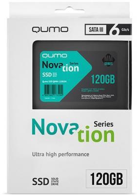 Твердотельный накопитель SSD 2.5 120GB QUMO QMM-120GSN SATAIII alpina granby s qmm black matt qmm red sph s2