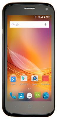 """Смартфон ZTE Blade Q Lux 3G черный 4.5"""" 4 Гб Wi-Fi GPS"""
