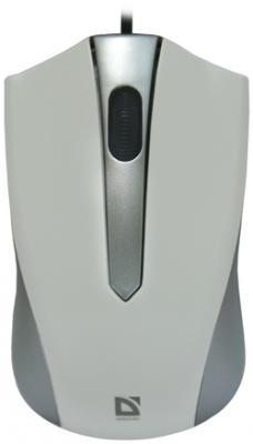 Мышь проводная DEFENDER Accura MM-950 серый USB