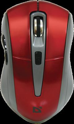 лучшая цена Мышь беспроводная DEFENDER Accura MM-965 красный USB 52966