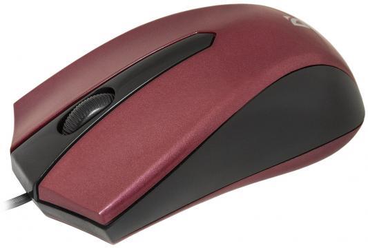 Мышь проводная DEFENDER Accura MM-950 красный USB 52951