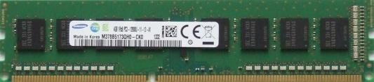 Оперативная память 4Gb PC3-12800 1600MHz DDR3 DIMM Samsung Original M378B5173QH0-CK000