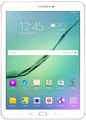 Планшет Samsung Galaxy Tab S2 9.7 32Gb белый Wi-Fi 3G Bluetooth 4G Android SM-T819 SM-T819NZWESER samsung galaxy s4 2 ядра dual 5 дюймов wi fi duos android 4 0 2 sim