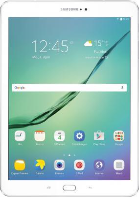 "Планшет Samsung Galaxy Tab S2 SM-T813 Exynos 5433 (1.9) 8C/RAM3Gb/ROM32Gb 9.7"" 2048x1536/WiFi/BT/8Mpix/2.1Mpix/GPS/Android 6.0/белый/Touch/microSD 128Gb/minUSB/5870mAh"
