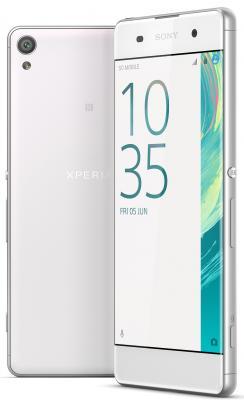"""Смартфон SONY Xperia XA белый 5"""" 16 Гб NFC LTE Wi-Fi GPS F3111"""