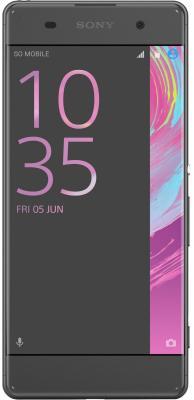 Смартфон SONY Xperia XA Dual черный 5 16 Гб NFC LTE Wi-Fi GPS 3G F3112 смартфон nokia 3 dual sim черный 5 16 гб lte wi fi gps nfc 11ne1b01a09