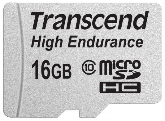 Карта памяти Micro SDHC 16GB Class 10 Transcend TS16GUSDHC10V