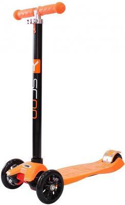 Купить Самокат Y-SCOO maxi A-20 Simple оранжевый, Трехколесные самокаты для детей