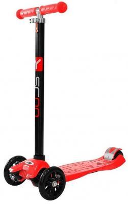Самокат Y-SCOO maxi A-20 Simple 5/3 красный y scoo y scoo самокат 3 х колесный maxi a 20 simple red красный