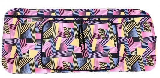 Чехол-портмоне Y-SCOO складной 125 Ленты разноцветные полосатые