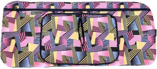 Чехол-портмоне Y-SCOO для самоката 180 - Ленты разноцветные полосатые складной