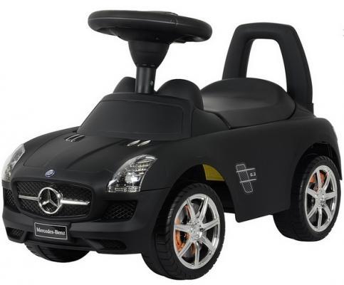 Каталка-машинка Rich Toys Mercedes-Benz черный от 1 года пластик матовый 332Р
