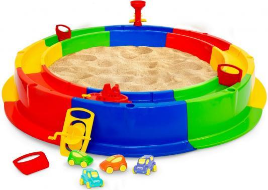 Купить Песочница Wader Кольцо с водой 40923, Внешний диаметр песочницы: 136 см, Горки и песочницы для детей