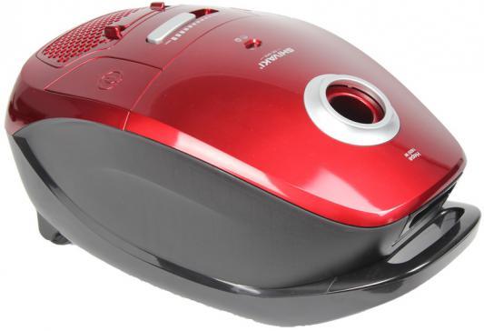 Пылесос Shivaki SVC-1441R с мешком сухая уборка 1600Вт красный