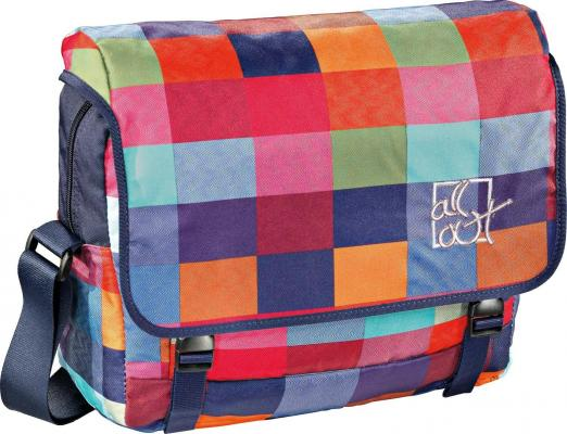 Школьная сумка с отделением для ноутбука All Out Barnsley Sunshine Check 13 л разноцветный 00129484 рюкзак all out louth forest check серый зеленый клетка [00129227]