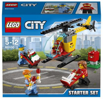 """Конструктор Lego City """"Набор для начинающих"""" - Аэропорт 81 элемент"""