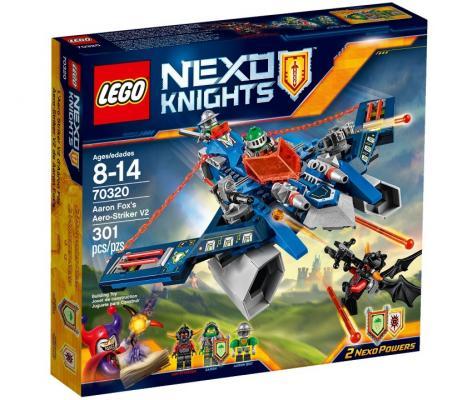 Конструктор Lego Нексо Аэроарбалет Аарона 301 элемент 5702015573979