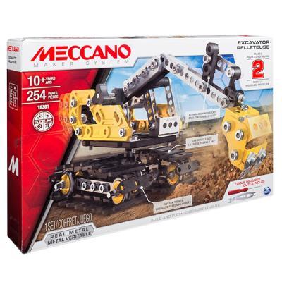 Конструктор Meccano Экскаватор 254 элемента 778988206652