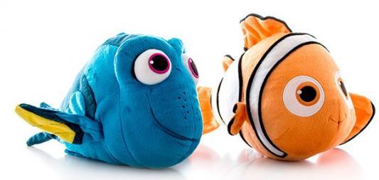 Мягкая игрушка герой мультфильма Finding Dory В поисках Дори Плюшевый подводный обитатель со звуком текстиль 25 см 3296580365401 в ассортименте