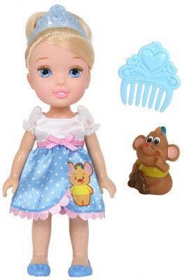 Кукла Disney Малышка с питомцем - Золушка 15 см