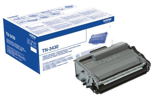 Картридж Brother TN241C для Тонер-картридж Brother TN3430 для HL-L5000D 5100DN 5200DW 6300DW 6400DW 6400DWT DCP-L5500DN 6600DW MFC-L5700DN 5750DW 6800DW 6900DW 3000стр цена 2017