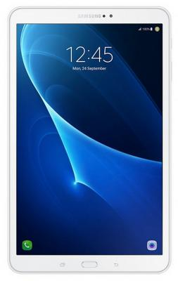 Планшет Samsung Galaxy Tab A 10.1 2016 SM-T585 10.1 16Gb White Wi-Fi 3G Bluetooth Android SM-T585NZWASER планшет samsung galaxy tab a 10 1 sm t585 16gb lte black