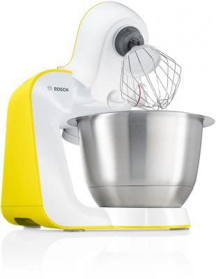 Кухонный комбайн Bosch MUM54Y00 белый, желтый от 123.ru