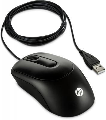 Мышь проводная HP X900 чёрный USB V1S46AA мышь hp x1200 wired black h6e99aa