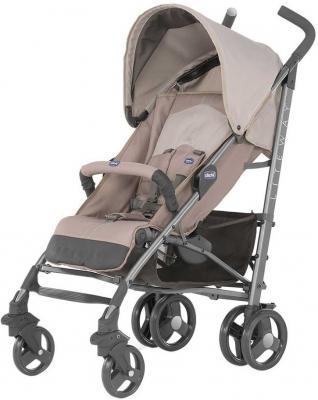 Коляска-трость с бампером Chicco Lite Way Top Stroller (sand) коляска трость с бампером chicco lite way top stroller s d denim
