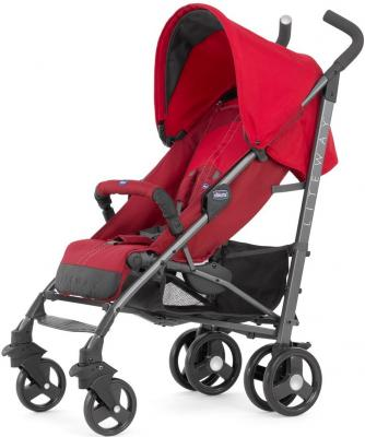 Коляска-трость с бампером Chicco Lite Way Top Stroller (new red)