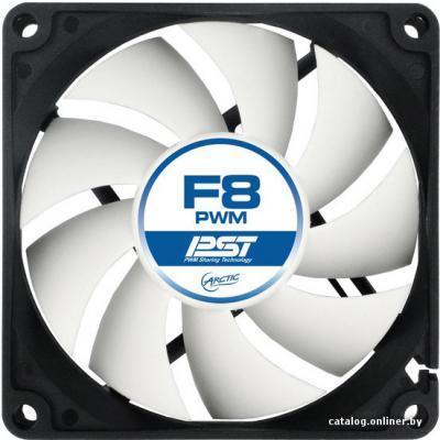Вентилятор Arctic Cooling Arctic F8 Pro PWM PST 80мм 1350об/мин AFACO-08PP0-GBA01