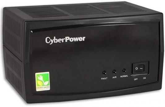 Стабилизатор напряжения CyberPower V-Armor 1000E черный 3 розетки