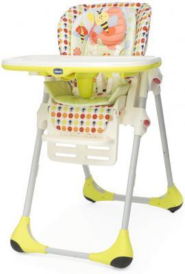 Стульчик для кормления Chicco New Polly (sunny-4r/4 колеса)