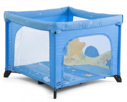 Кровать-манеж Chicco Open (sea dreams)