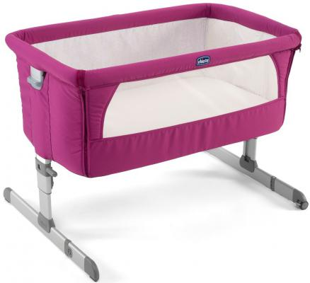 Кроватка Chicco Next2me (fuchsia)