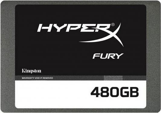 "SSD Твердотельный накопитель 2.5"" 480 Gb Kingston HyperX Fury Read 450Mb/s Write 208Mb/s SATA III SHFS37A/480G от 123.ru"