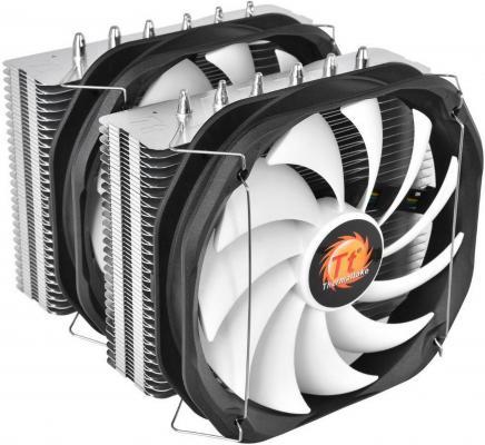 Кулер для процессора Thermaltake Frio Extreme Silent 14 Dual CLP0587-B Socket 2011/1366/1150/1155/775/AM3/AM2/FM1/FM2 кулер для процессора thermaltake clp0556 b clp0556 b