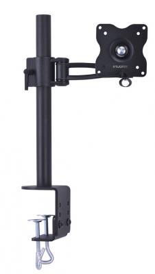 Настольное наклонно-поворотное крепление Tuarex ALTA-13 для LCD монитора 15-32 4 ст свободы черный VESA 100/100 кронштейн для телевизора tuarex olimp 8004