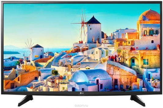 Телевизор LG 49UH651V серебристый черный