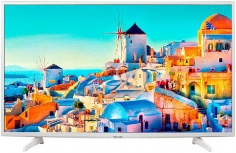 Телевизор LG 49UH619V белый lg 49uh619v