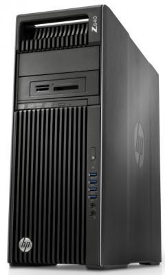 Системный блок HP Z640 E5-2630v4  2.2GHz 16Gb SSD 256Gb Intel HD DVD-RW Wi-Fi Win7 Win10 клавиатура мышь черный T4K61EA