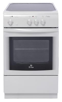 Электрическая плита De Luxe 506003.04эс белый камины ewt ventosa de luxe