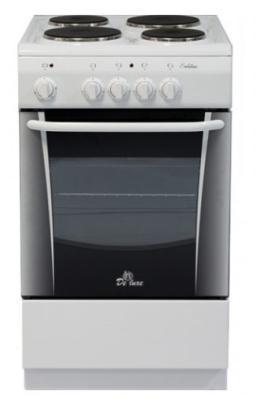Электрическая плита De Luxe 506004.04э белый