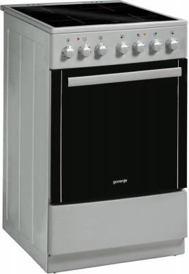 Электрическая плита Gorenje EC52203AS0 серебристый