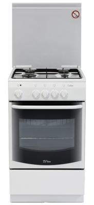 Газовая плита De Luxe 5040.37г белый газовая плита de luxe 5040 33г белый 5040 33г
