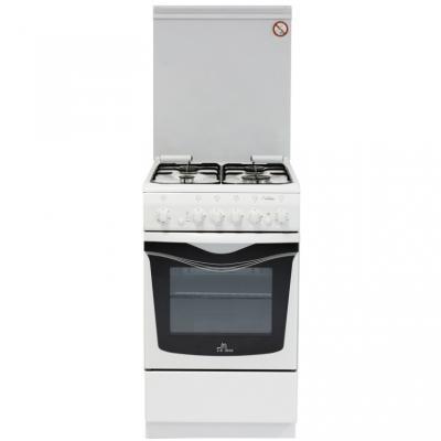 Газовая плита De Luxe 506040.03г чр белый газовая плита de luxe 506040 01г чр газовая духовка белый