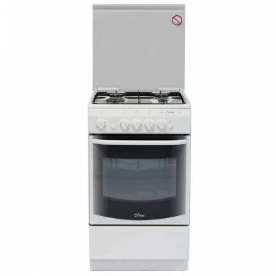 Газовая плита De Luxe 5040.44г ЧР белый газовая плита de luxe 506040 04г чр газовая духовка белый