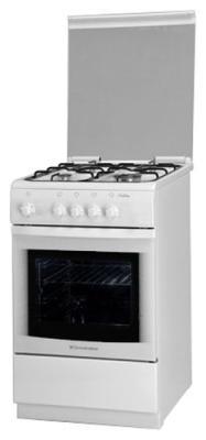 Газовая плита De Luxe 506040.05г белый