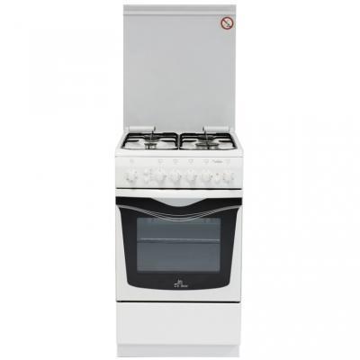 Газовая плита De Luxe 506040.01г чр белый газовая плита de luxe 506040 04г чр газовая духовка белый